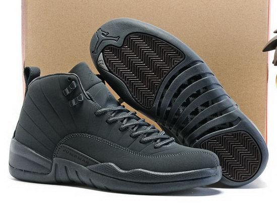 Air Jordan Retro 12 All Grey China